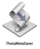 Theta Meta Saver Icon