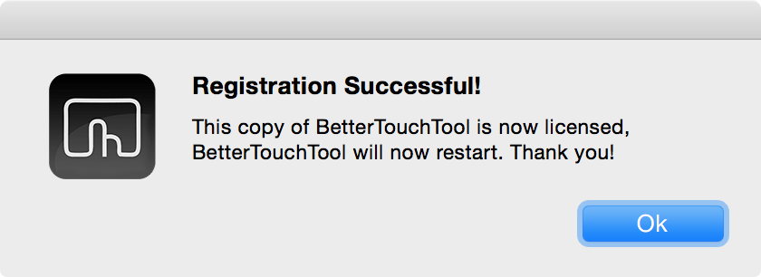 Bettertouchtool adopted a pay what you want model 00006