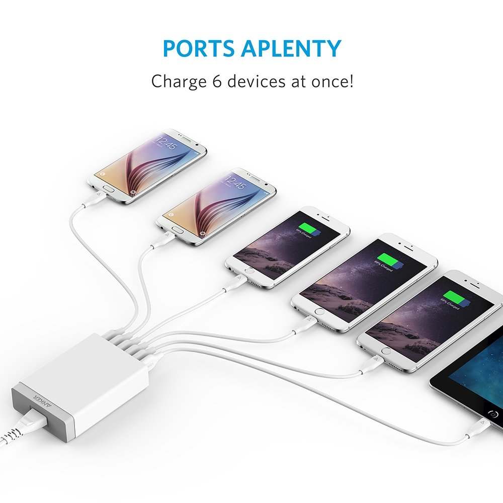 Anker powerport 6 lite now on sale 00004
