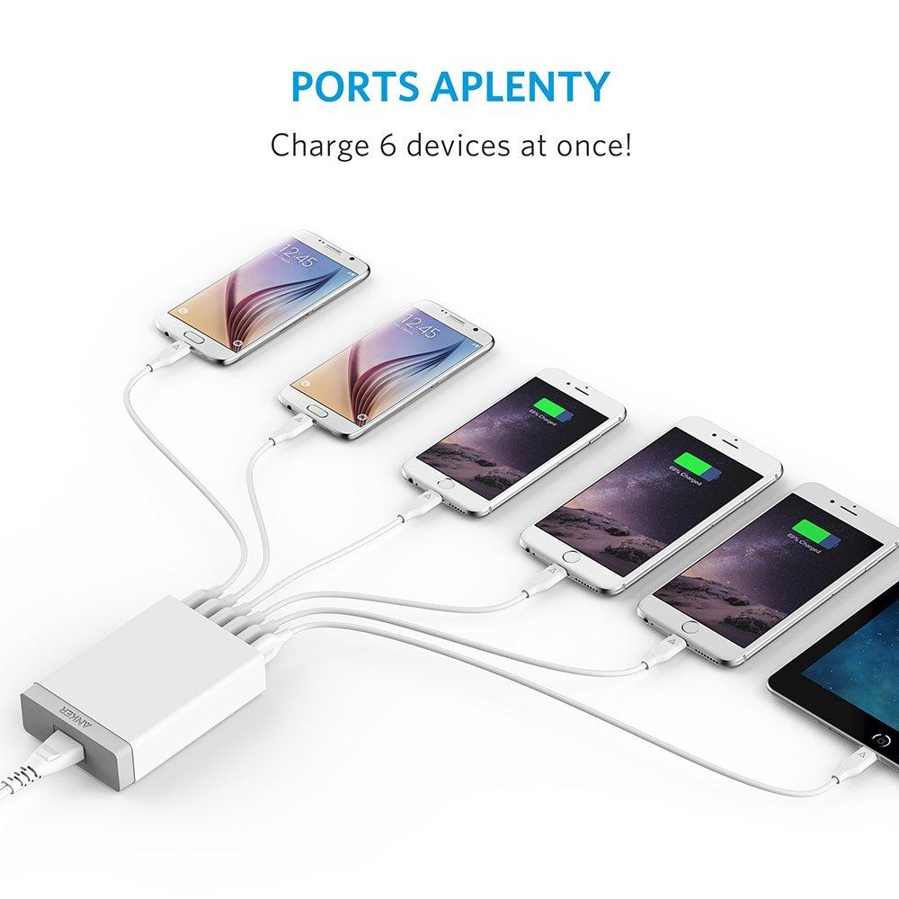 Anker powerport 6 lite now on sale 00004