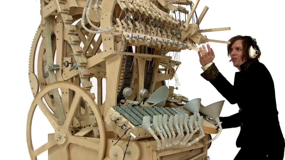 Wintergatan marble machine 00001