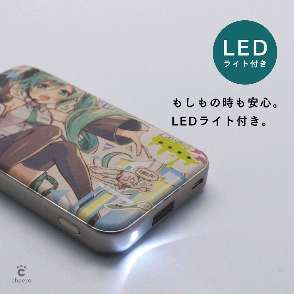 Cheero energy plus mini 4400mah hatsune miku version 00004
