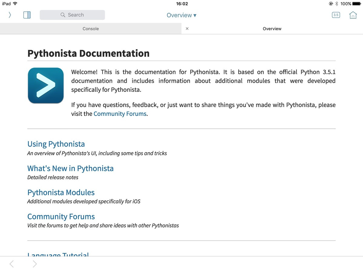 Pythonista 3 for ios 00020