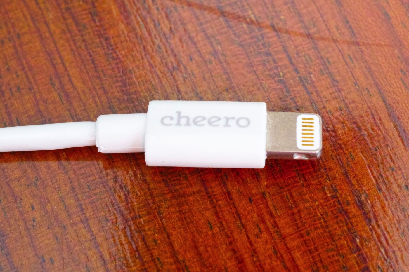 Cheero standard usb cable with lightning connector 100cm 00003