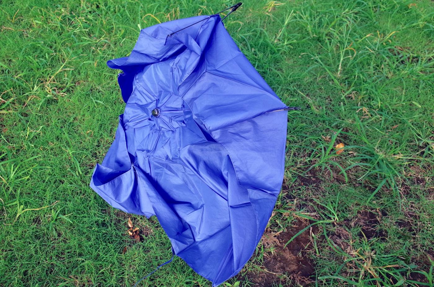 Uvion 8803 ultra lightweight folding umbrella 00010