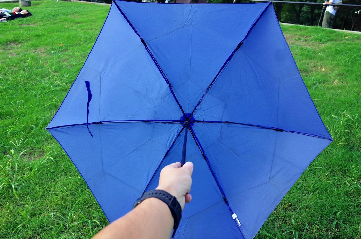 Uvion 8803 ultra lightweight folding umbrella 00016