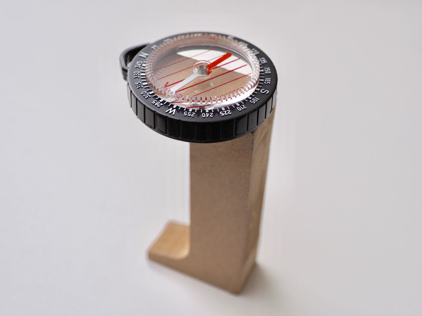 Wearable compass for cultivating direction sense devised by directional tongue 00004