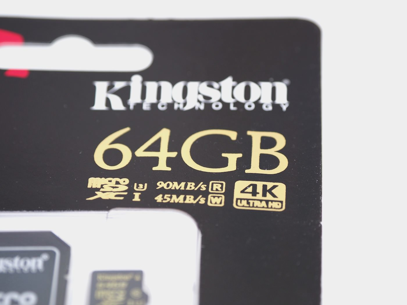 Kingston gold microsd uhs i u3 sdcg 64gb 00001