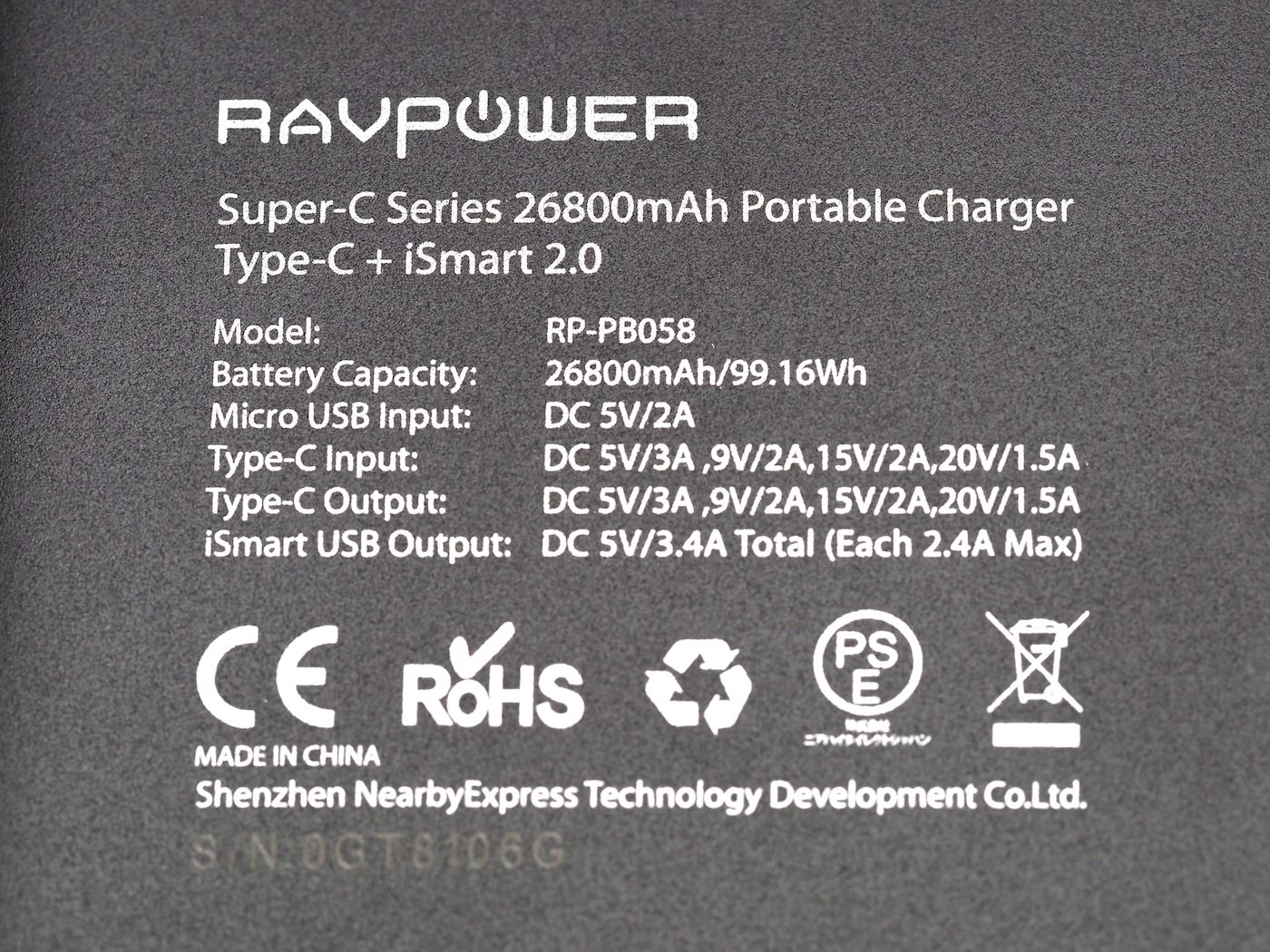 Ravpower type c 26800mah 00003