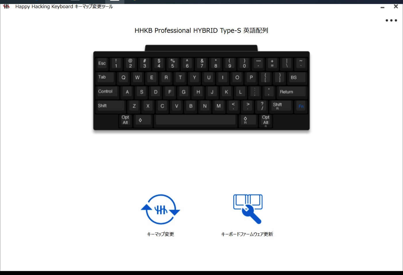 Happy hacking keyboard hybrid type s 00024